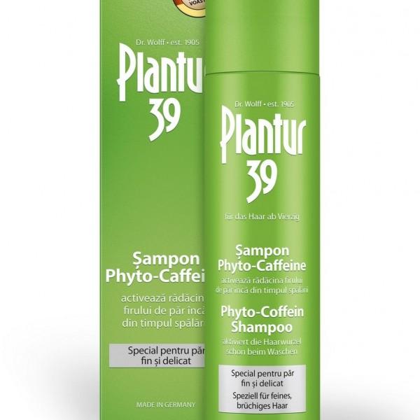 Plantur 39 Șampon Phyto-Caffeine, 250 ml, Dr. Wolff