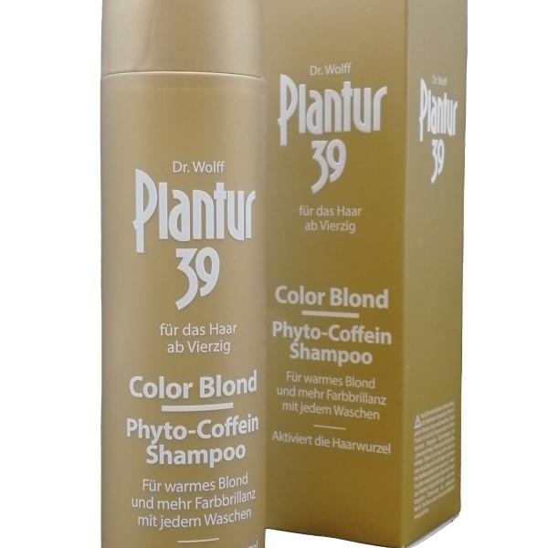 Plantur 39 Șampon Phyto-Caffeine, Color Blonde, 250 ml, Dr. Wolff