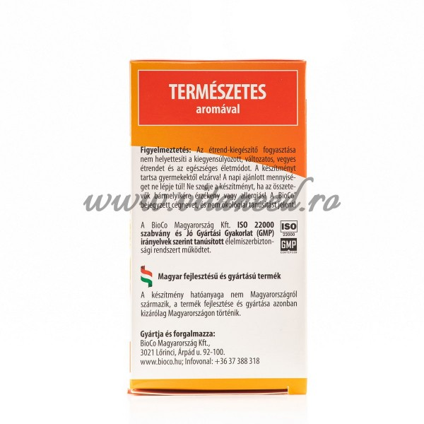 Vitamina C Copii & Adulți, 500 mg x 100 buc, BioCo, Comprimate Masticabile