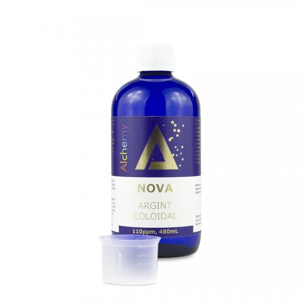 Argint coloidal Nova 110ppm, 480 ml, Pure Alchemy