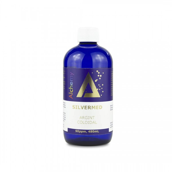 Argint coloidal SilverMed 50ppm, 480 ml, Pure Alchemy