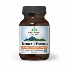 Turmeric Formula, Antiinflamator Natural, 60 buc, Organic India