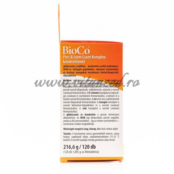 Complex Oase, Cartilaj & Mușchi, 120 buc, Bioco