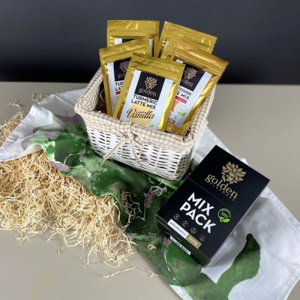 Turmeric Latte Mix Pack 6x70g, Golden Flavours