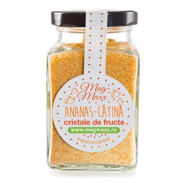 Ananas - Cătină, Fructe Cristaline pentru Accelerarea Arderii Grăsimilor, 90 g, Magmaxx