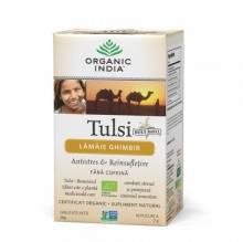 Ceai Tulsi cu Lămâie și Ghimbir, 18 plic, Organic India