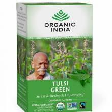Ceai Tulsi - Ceai Verde, 18 plic, Organic India