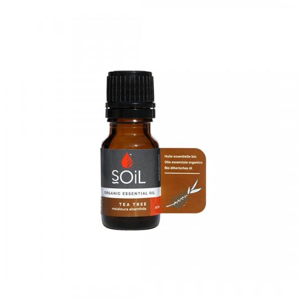 Ulei esențial de Tea Tree (Arbore de ceai), 100% organic, 10 ml, SOiL