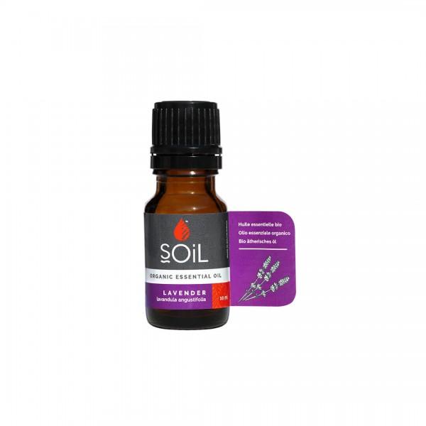Ulei Esenţial de Lavandă, 100% Organic, 10 ml, SOiL
