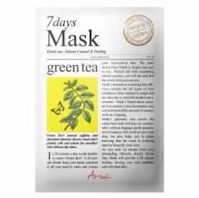 Mască Șervețel cu Ceai Verde, 7Days Mask, 20 g, Ariul