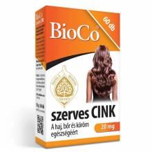 Szerves Cink, 20 mg x 60 db, BioCo