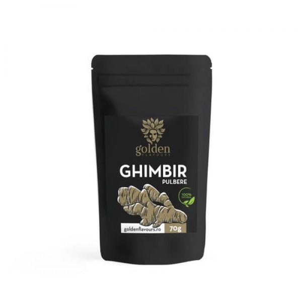 Ghimbir pulbere 100% naturală, 70g, Golden Flavours