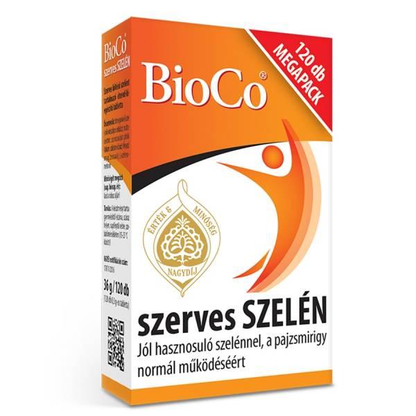 Seleniu Organic, 100 μg x 120 buc, Tablete, BioCo