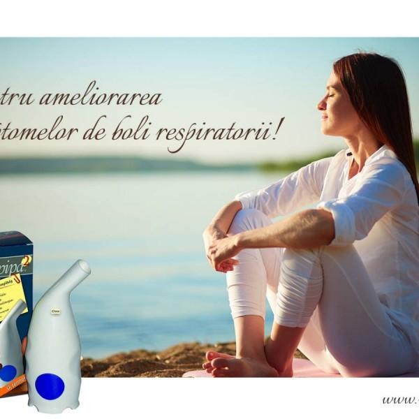 Inhalator Salin - Pipă cu Sare, Sopipa-Pharma