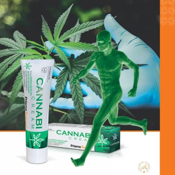 Cremă CBD pe bază de plante Cannabi, PrismaNatural