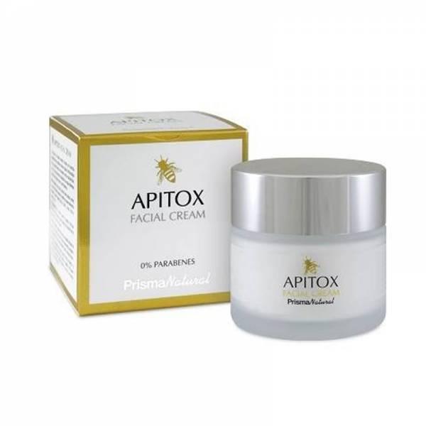 Cremă de Față Naturală Apitox cu Venin de Albină & Acid Hialuronic, Fără Parabeni